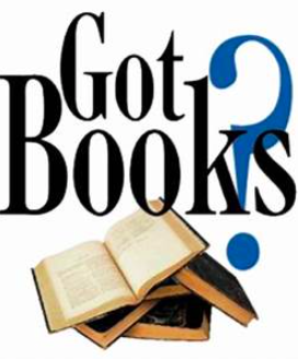 We are looking for book donations!