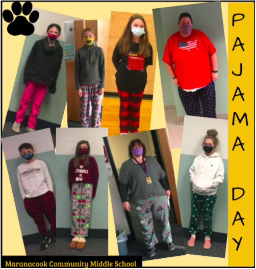 Pajama Day at MCMS!