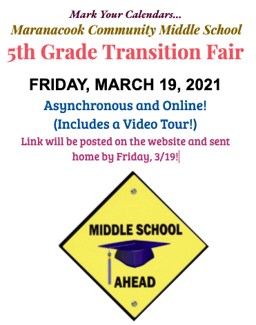 Transition Fair is  3/19, online!