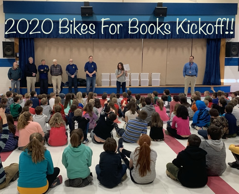 Bikes For Books Assembly