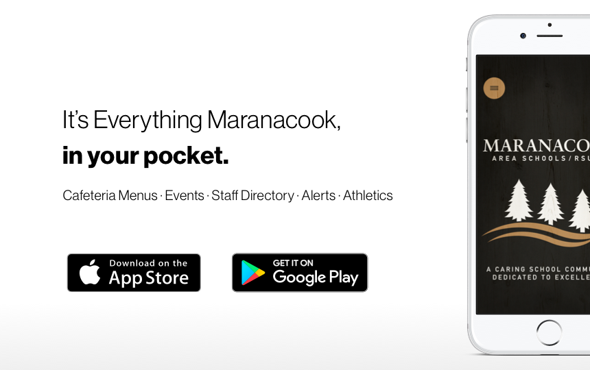 Download the Maranacook App!