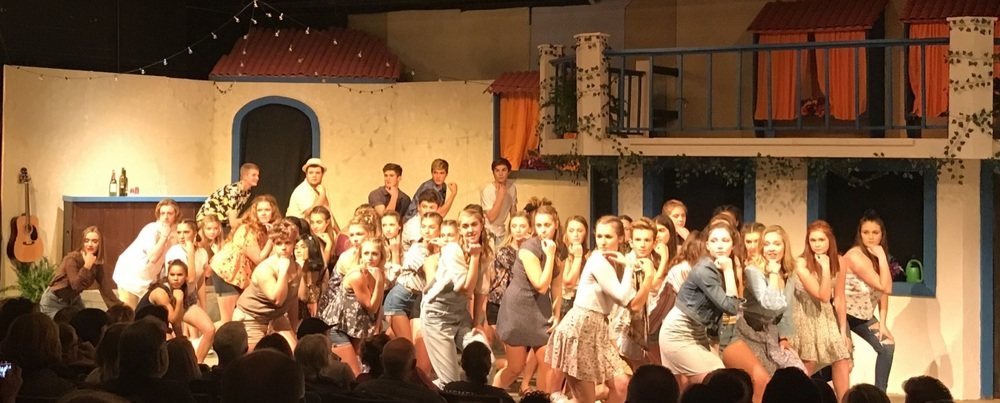 Mamma Mia! Opening night huge success