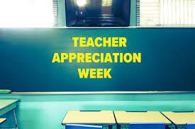 Kick Off to Teacher Appreciation Week
