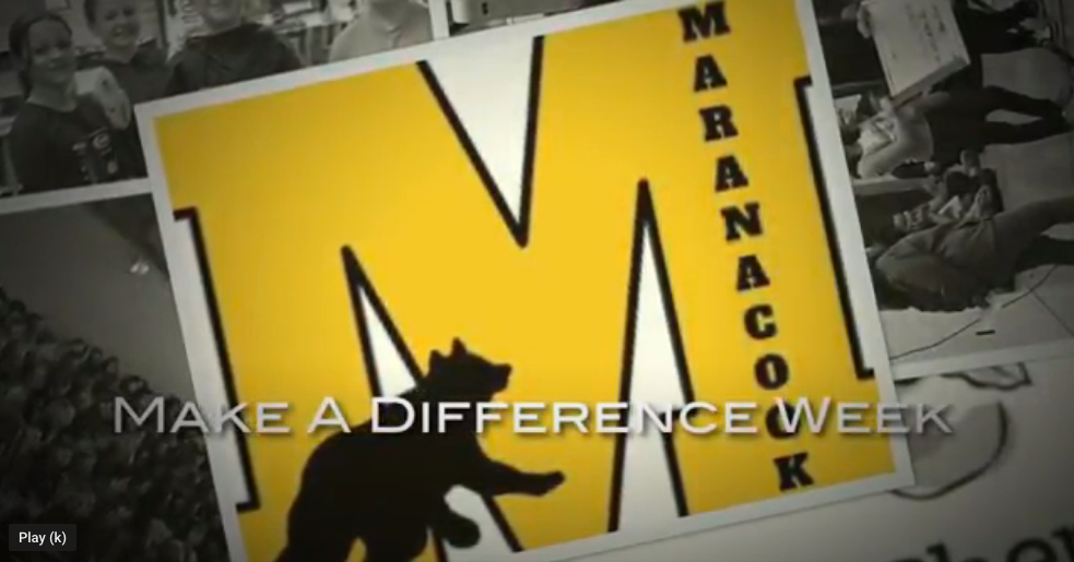 Make A Difference Week at MCMS