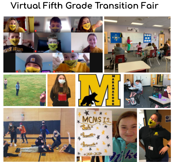 Come Check out Our 5th Grade Transition Fair!