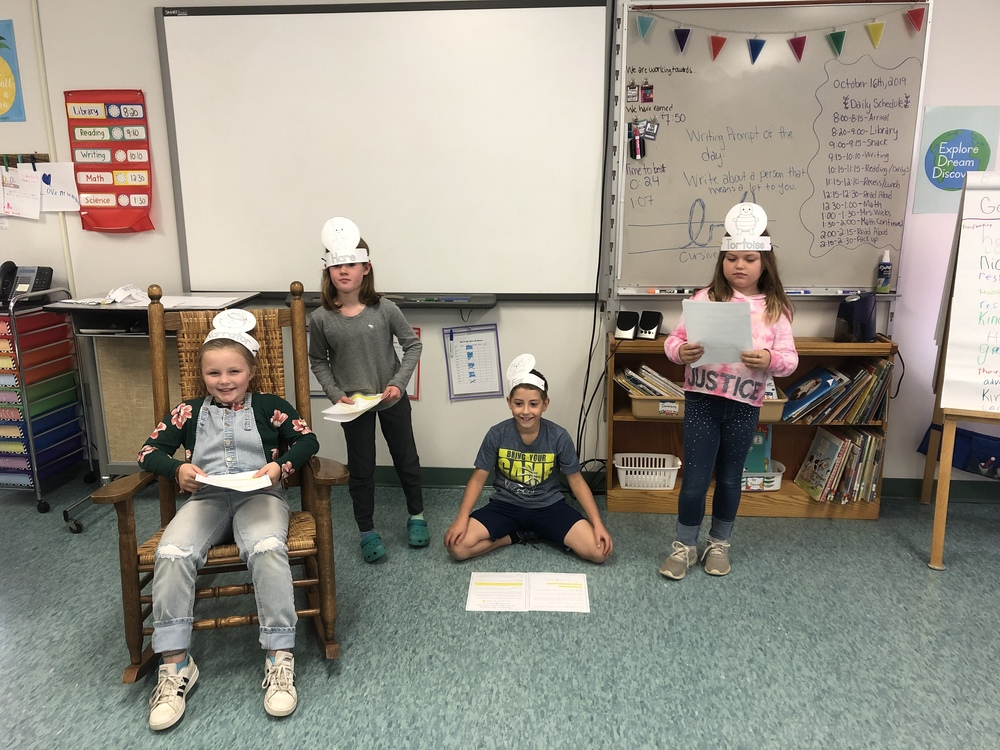 WES 3rd Graders Step into Character