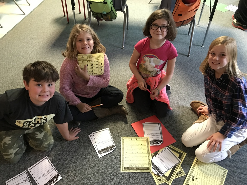 4th Grade Mythology Escape Room