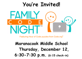 RSU 38 Family Code Night (gr. 4-5)