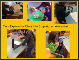 Stop Motion Photography at MCMS