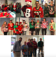 Ugly Sweater Contest at MCMS!