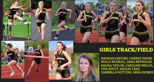 Girls Track Seniors