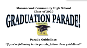 Updated Graduation Parade Times!