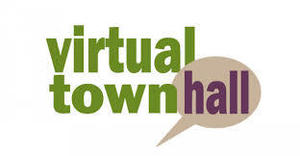 Virtual Town Hall Agenda and log in information
