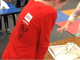 WES 2nd Graders Build Topographic Models
