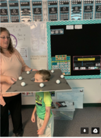 1st Graders Learn about the Moon