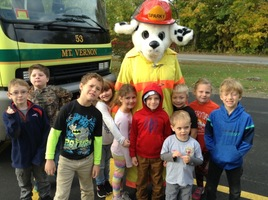 Fire Prevention Week at MtVES!