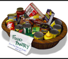 Food Pantry open 3:00-4:00 Friday 4/10