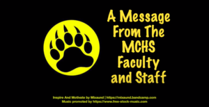 A Message from the MCHS Faculty & Staff