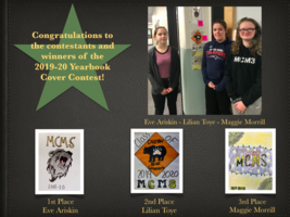 MCMS Yearbook Cover Competition- Winner Announced!