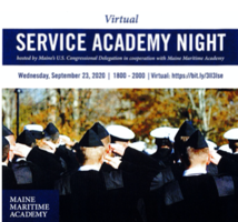 Service Academy Night - Virtual