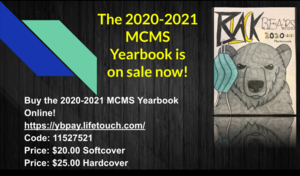 2020-2021 Yearbooks on Sale NOW!