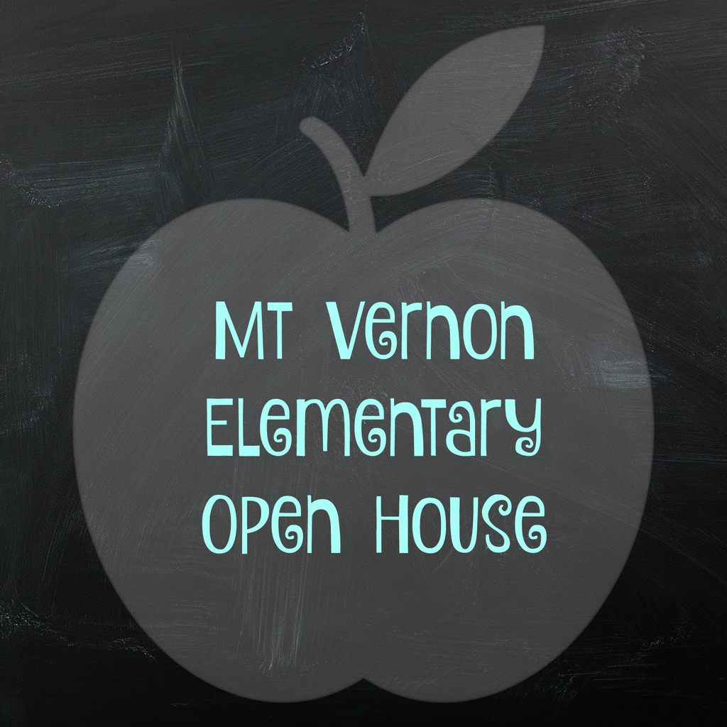 graphic for open house