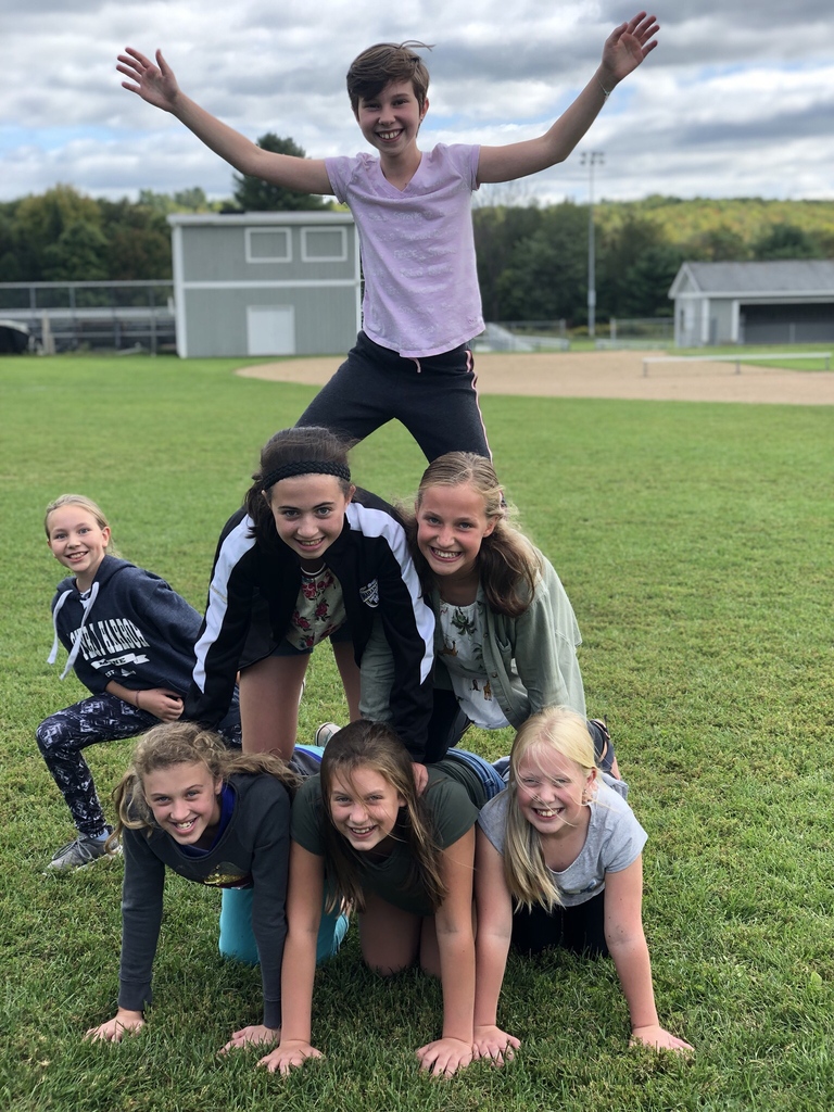We have some great students here at MCMS! In this photo: Paige Magee, Avery Loiko, Megan Larchar, Alice Ferran, Gracie Farrell, Jules Wing and Kyra Audet