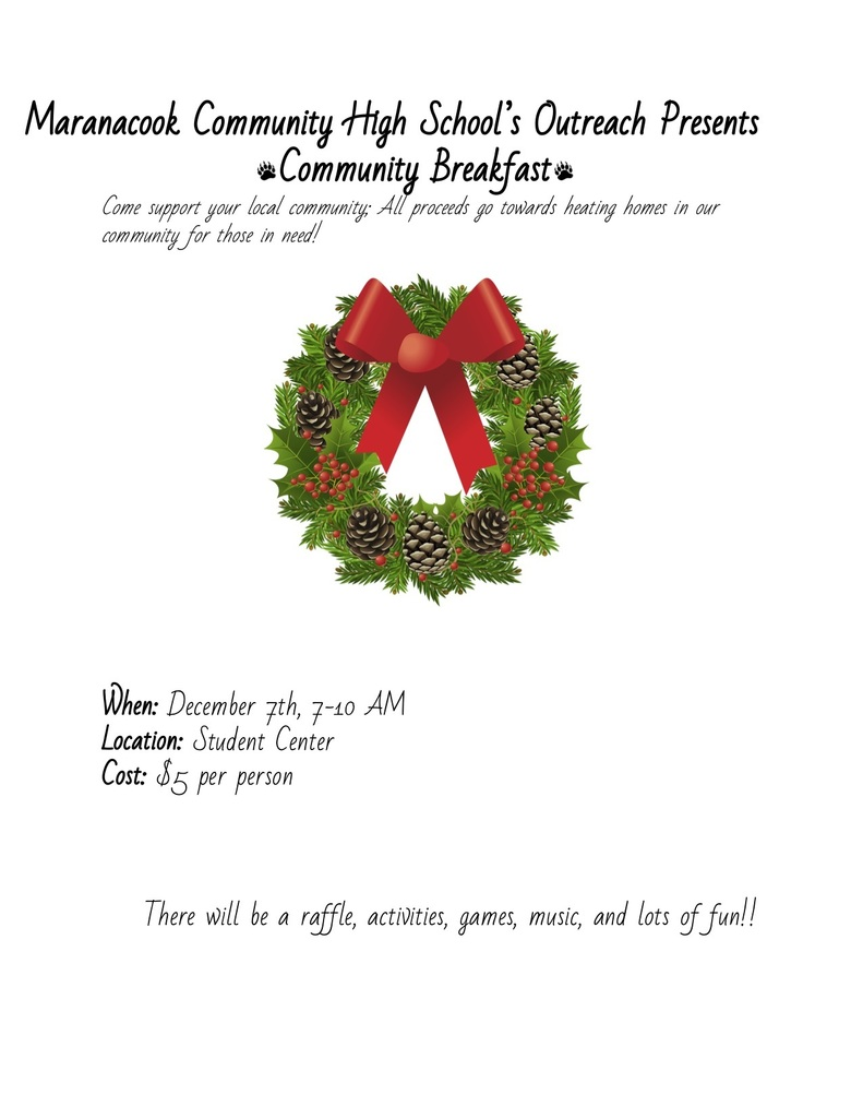 community breakfast flyer
