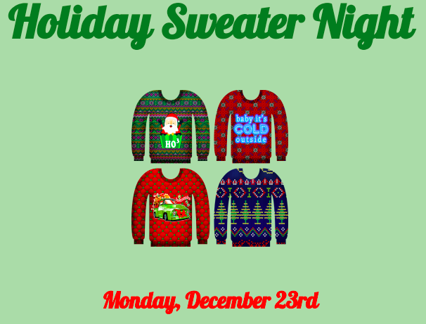 Holiday Sweater Games