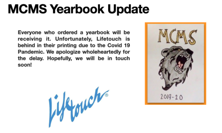 Yearbook Delay