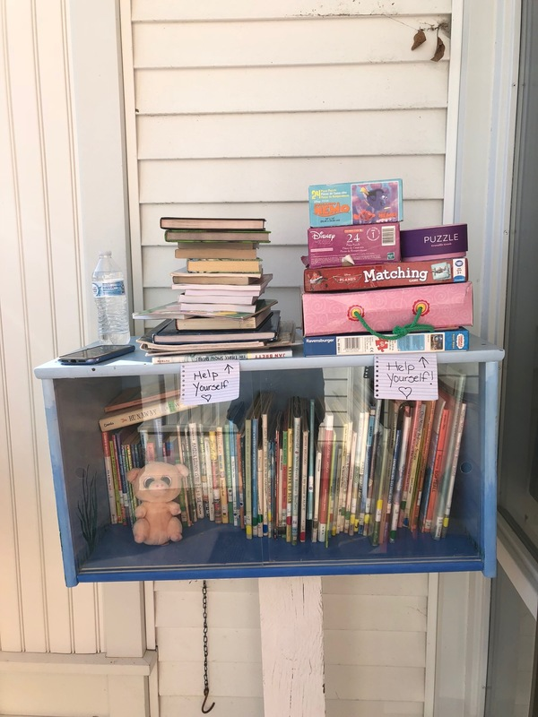 MES Lending Library is Full of Books